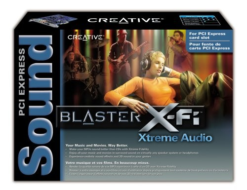 Creative SB1040 Sound Blaster X-Fi Xtreme Audio PCI-E