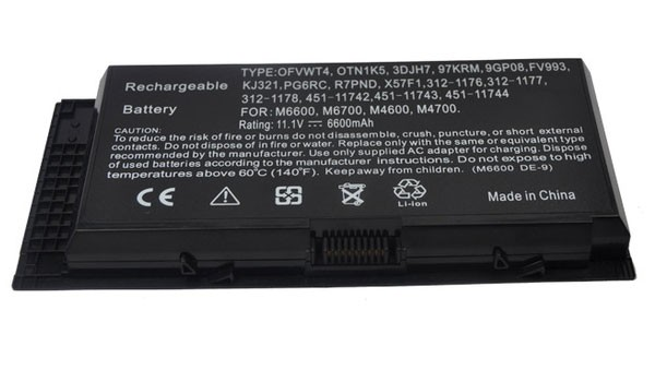 Baterie / Acumulator Laptop Dell Precision M4800 9 cell