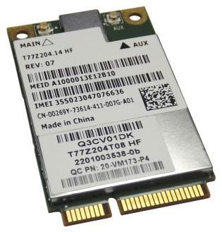 MiniPCIe WifiCard Dell DW5630