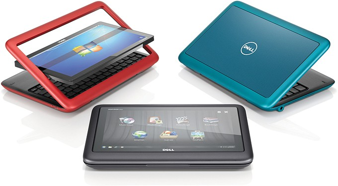 Laptop Second Hand Dell Inspiron Duo TouchScreen [Tablet PC]