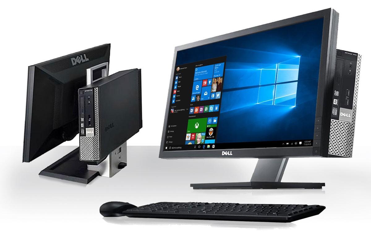 All-in-One Dell Optiplex Refurbished 790 Intel Core i5-2400
