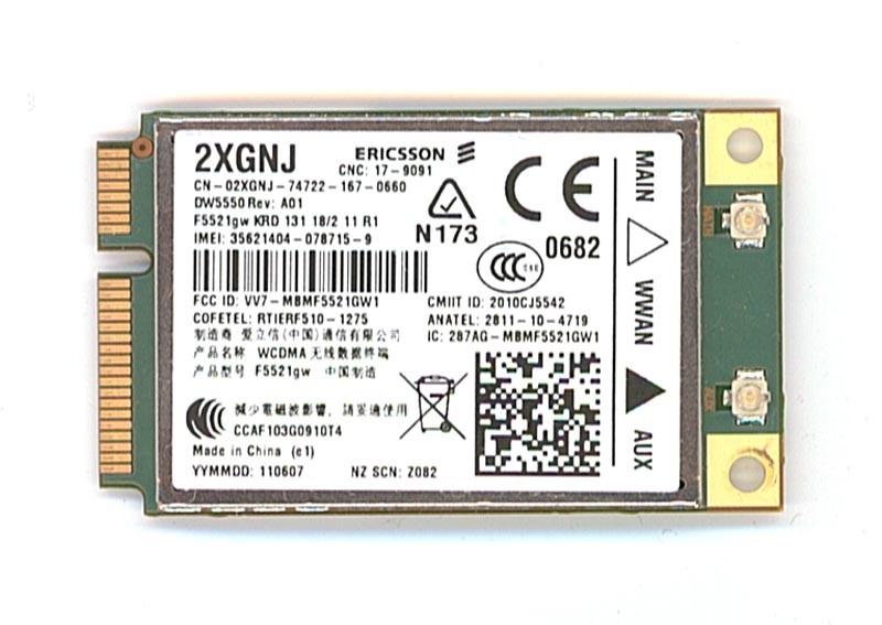 Modem 3G + GPS Dell Wireless DW5550