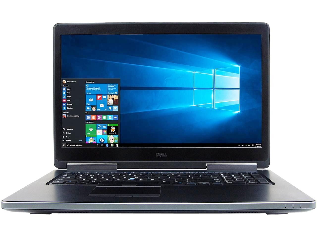 Laptop Refurbished Dell Precision 7710