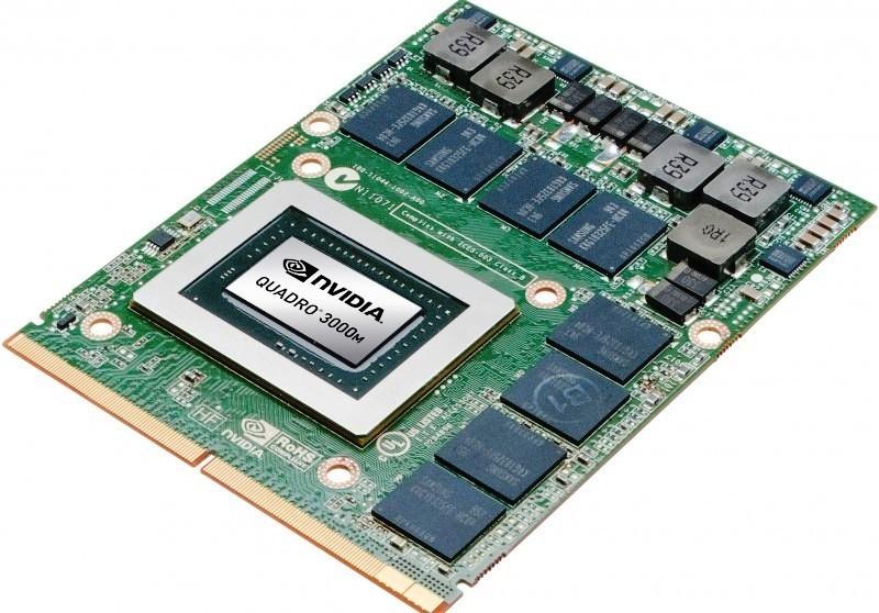 Placa Video Laptop Nvidia Quadro FX 3000M