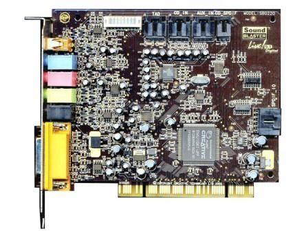 Placa sunet Creative Sound Blaster Live! 5.1 SB0220 (Default)