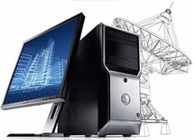 Workstation Dell Precision T1500 Intel Core i3