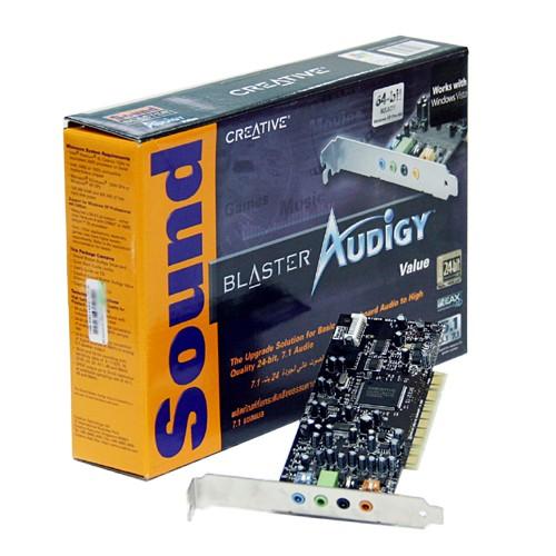 Placa Sunet Creative Sound Blaster Audigy SB0570