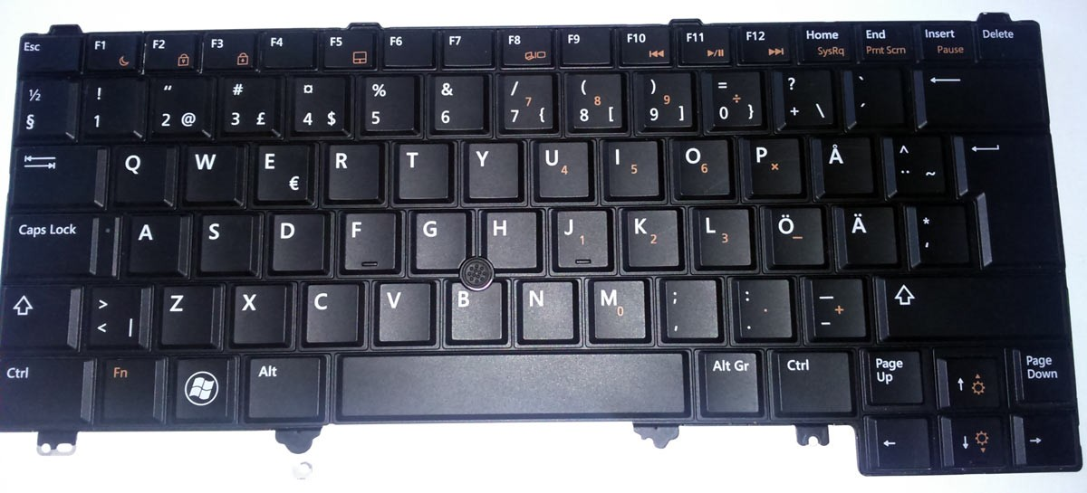 Tastatura Originala Laptop Dell Latitude E5420 layout QWERTY