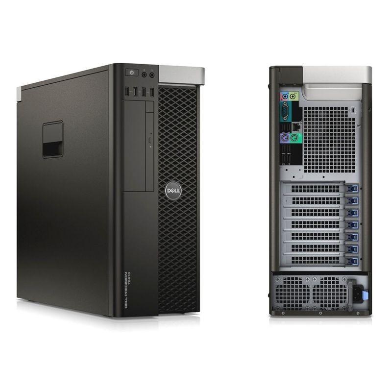 Workstation Refurbished Dell Precison T7810 2 x Xeon Hexa Core