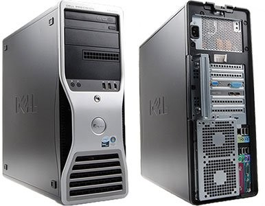 Workstation Second Hand Dell Precision T5500 Procesor: Xeon Quad Core