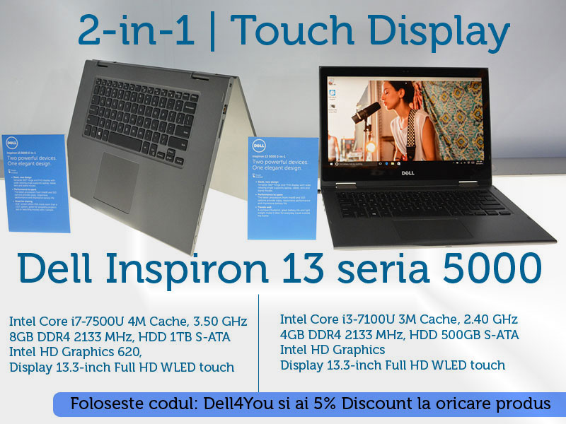 Dell Inspiron 13 5378 touch